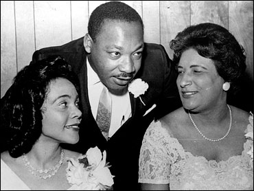 Martin Luther King, Jr., Coretta Scott King and Constance Motley