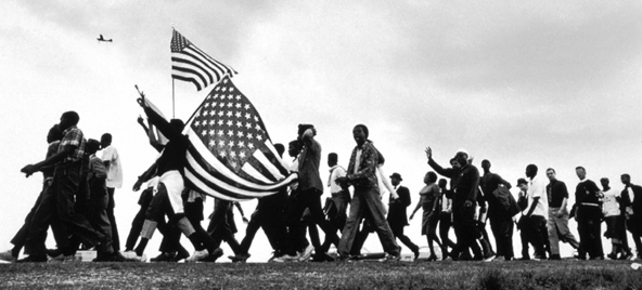 The Selma to Montgomery March Alabama, 1965. (photographs © Matt Herron)    (crmvet.org)