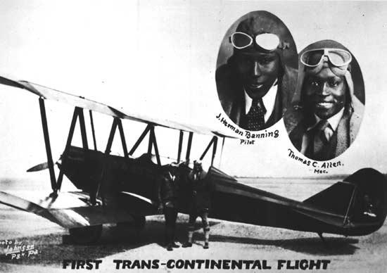 James Herman Banning and Thomas C. Allen(airandspace.si.edu)