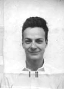 Richard Feynman's Los Alamos ID badge photo (LOC)