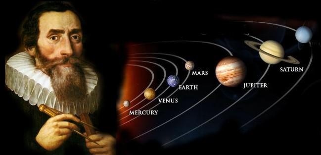 Kepler and Solar System (http://cosmologybus.typepad.com/cosmology_bus/johannes-kepler/)