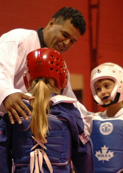 Vasquez at Vasquez Olympic Taekwondo (http://www.kicks4fun.ca/instructors.html)
