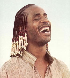 Stevie Wonder without Glasses