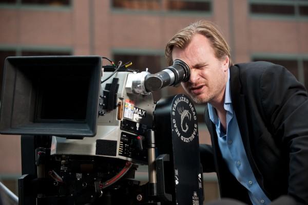 Christopher Nolan Directing (google images ())