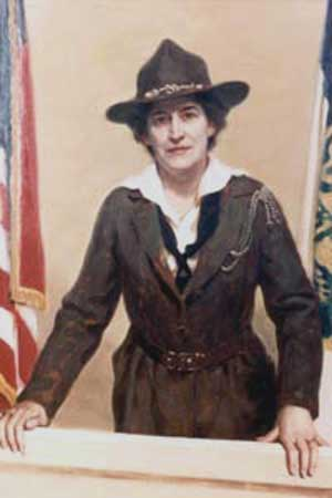 Juliette Gordon Low (courtesy of InfoBarrel.com ())