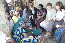 Bill and Melinda Gates in Nigeria (GatesFoundation.org ())