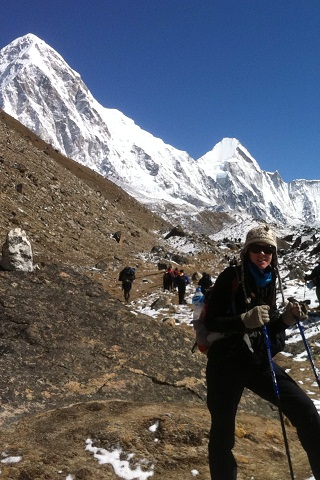 Wendy Gorton Trekking in the Himalayas, Nepal (Wendy Gorton ())