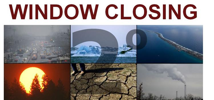 Window Closing on Climate Change (Huffington Post ())