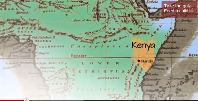 Kenya on the map (wfp.org ())