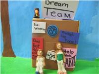 Dream Team Rainforest Fable props (Mali Bickley ())