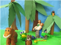 The making of Rainforest Fable (Mali Bickley ())