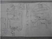 Storyboard Rainforest Fable (Mali Bickley ())