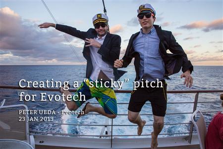 Founder, EvoTech Paul Ueda and friend (UnreasonableAtSea.org ())