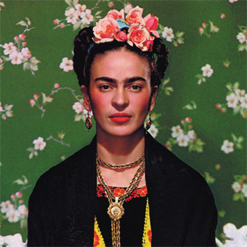 Photo of Frida in 1938 (http://www.pbs.org/weta/fridakahlo/life/gallery_frida.html (Photographer  Nickolas Muray))