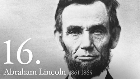 Abraham Lincoln during his presidency (http://1.usa.gov/5iL8Em ())