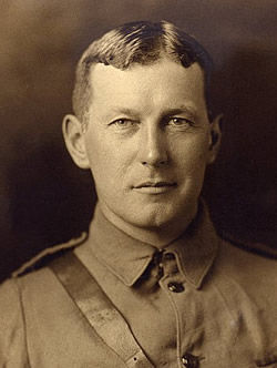John McCrae in uniform (http://en.wikipedia.org/wiki/File:John_McCrae_in_uniform_circa_1914.jpg ())