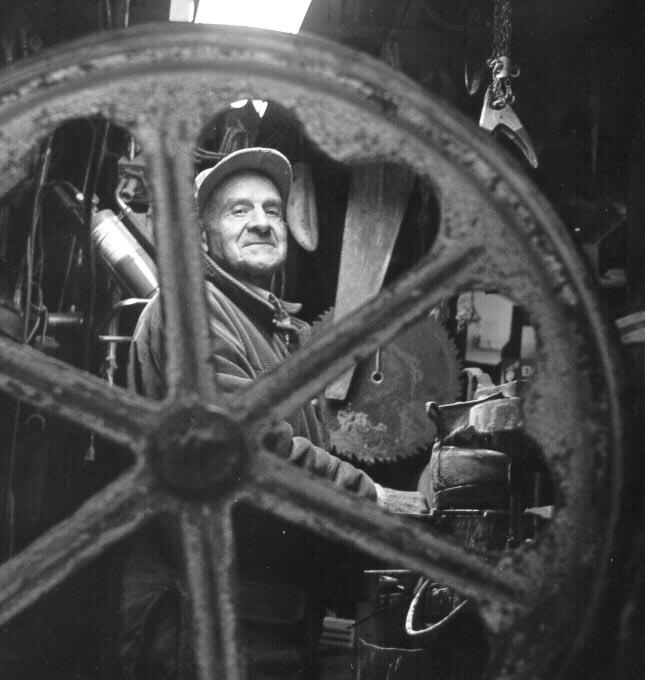 (The Master Carpenter. (Photo by Mark Eagan))