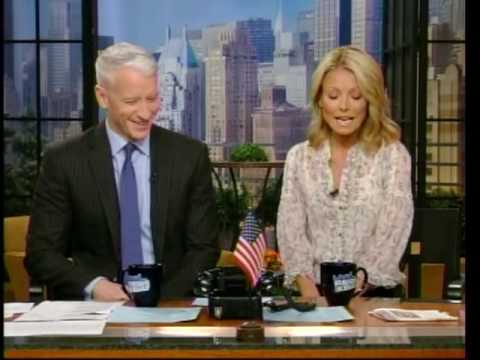 Anderson Cooper and Kelly Ripa (blogspot.com/2011/07/anderson-cooper.html)