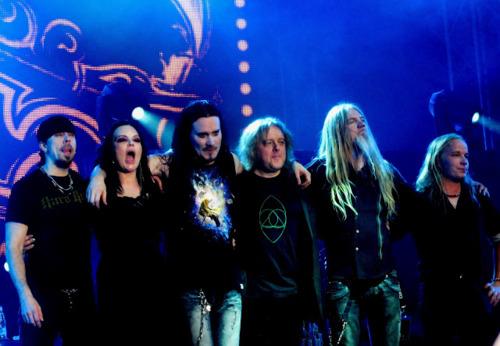 Nightwish after a show (Google (30.media.tumblr))
