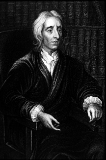 A portrait of John Locke (From wikipedia)