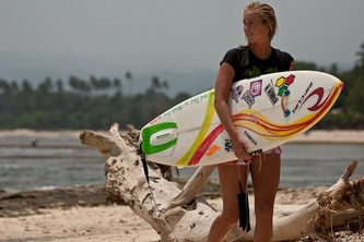 bethany hamilton hero Surfer bethany hamilton hasnt let a savage shark attack stop her from competing in her favorite sport check out this biography and pictures of the teen surfer who survived a shark attack.