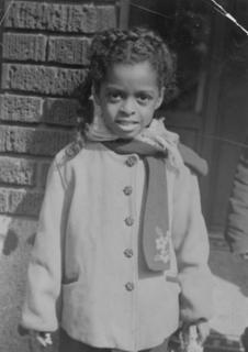 Barbara Ross at age 8
