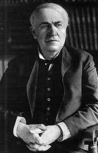 Thomas Edison (http://inventors.about.com/library/inventors/bledison.htm ())