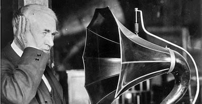 Edison with his Phonograph (http://funnywebpark.blogspot.com/2010/09/americas-greatest-entrepreneurs.html ())