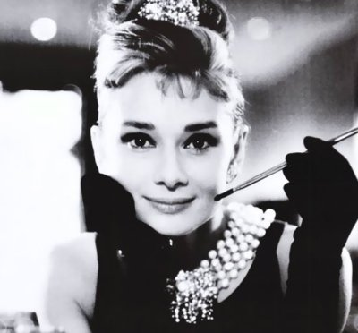 Actress Audrey Hepburn (http://www.convictmannequin.com/2011/05/happy-birthday-audrey-hepburn.html ())