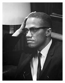 Malcolm X (U.S. News & World Report Magazine Collection - Public Domain (Marion S. Trikosko))