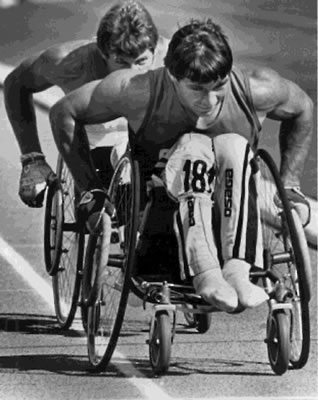 rick hansen a true hero Rick hansen (b 1957) like terry fox before him, rick hansen is a disabled athlete who captured the imagination of canadians with a high-profile fundraising marathon but while terry only sought to cross canada, hansen's man in motion tour saw him wheel across 34 countries in two years, raising millions in the process.