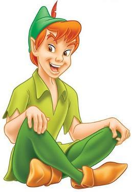 Peter Pan (http://disney.wikia.com/wiki/Peter_Pan)