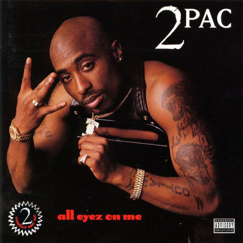 All Eyez On Me (http://www.chartstats.com/images/artwork/32955.jpg (Death Row Records))