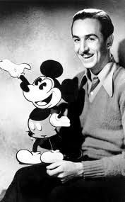 Young Walt Disney and Mickey Mouse (edublogs.org (unknown) ())
