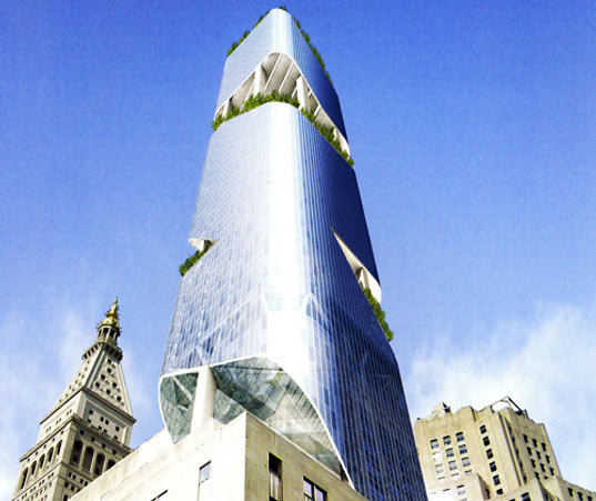 Daniel Libeskind's New York Tower
