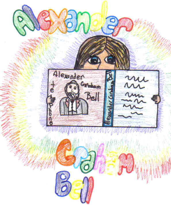 alexander graham bell my hero i drew this picture i drew it me