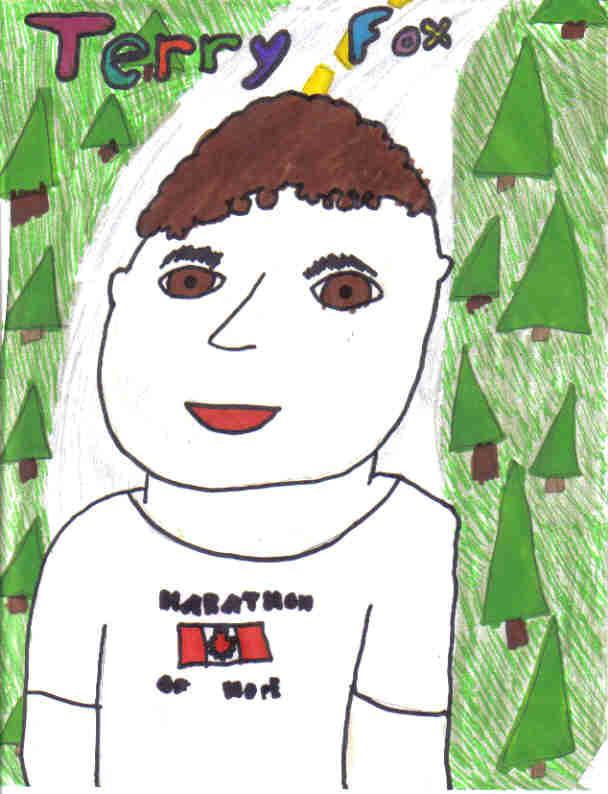 Terry Fox Portrait (I drew it (I did))