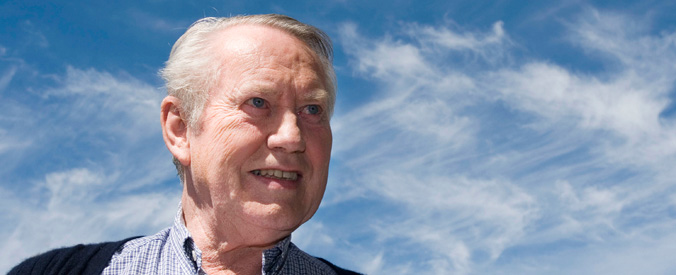 Chuck Feeney in the present (http://www.atlanticphilanthropies.org/history-and-founder (The Atlantic Philanthropies))