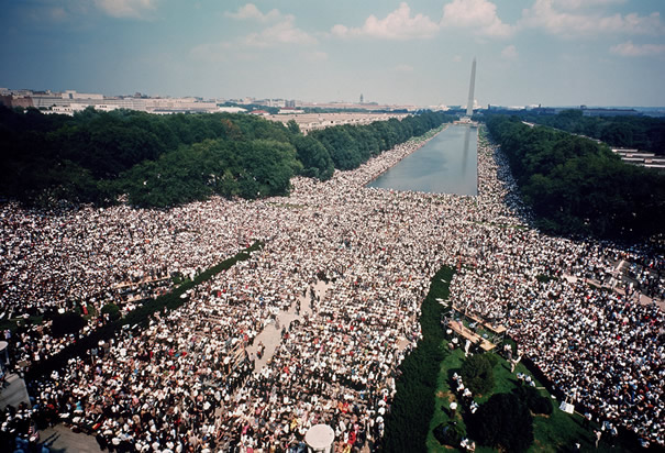 A picture of the 1963 March on Washington (http://www.history.com/images/media/slideshow/march-on-washington/march-on-washington-aerial-view.jpg (Getty))