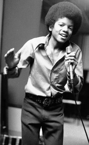 In Younger Years Rehearsing with the Jackson 5.  (EOnline(Unknown.))