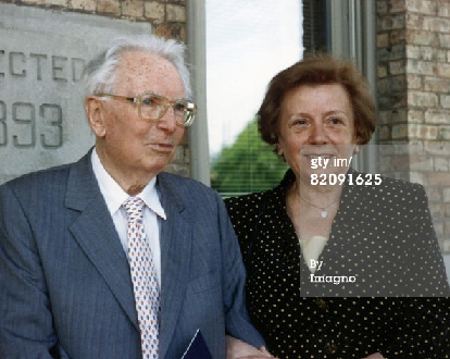 Viktor and his second wife Eleonore (http://www.gettyimages.com/)