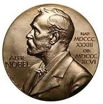 A Nobel Prize Medal. (http://www.nobelprize.org/nobel_prizes/about/medal)