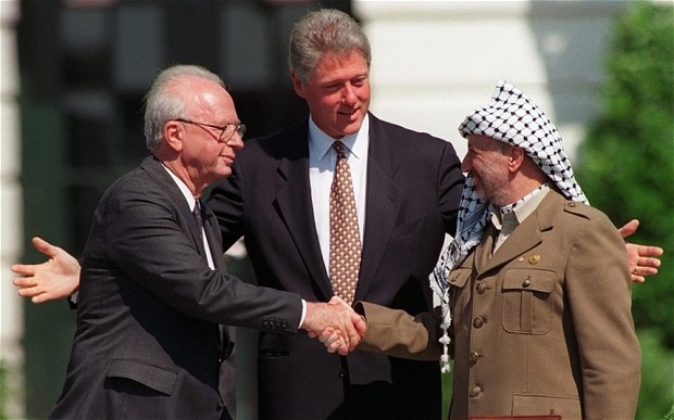 Rabin (left) making peace with the King of Jordan (http://whatafy.com/personalities-born-on-the-1st-o ())