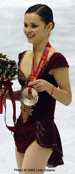 Sasha's 2006 Olympic Silver (http://www.sashacohen.com/06olympics.shtml)