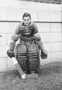 This is Jacques his first year playing hockey (https://www.google.ca/imgres?q=jacques+plante&hl=en (unknown))
