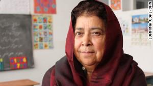 Razia Jan, founder of Zabuli Education Center (CNN ())