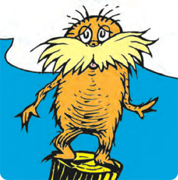 The Lorax himself