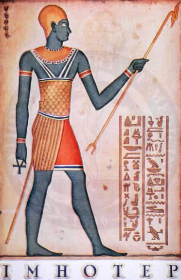 A picture of Imhotep  (www.vopus.org)