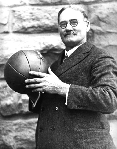 James Naismith  (http://www.kshs.org/portraits/graphics/naismith_ja ( Kansas Historical Society))