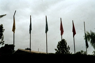 The flags (personal photo collection)